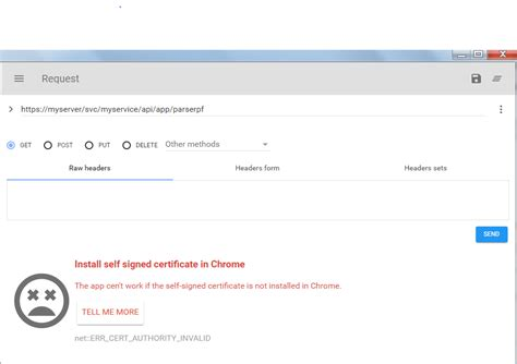 install google certificate windows how to install self signed certificate for