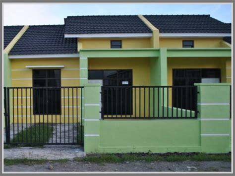 warna cat pagar rumah minimalis