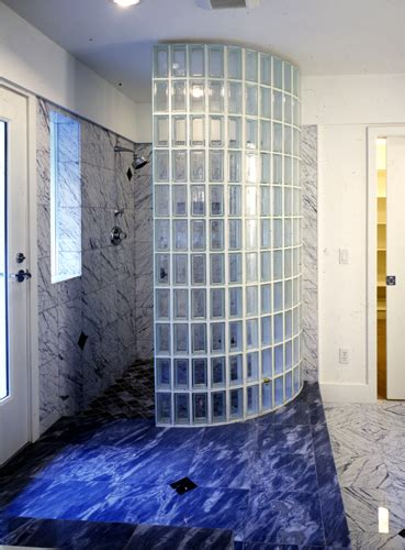 Idea For Bathroom by Seattle Glass Block Glass Block Shower Glass Block