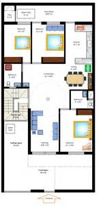 Home Design 15 By 60 35 X 70 West Facing Home Plan Gharexpert