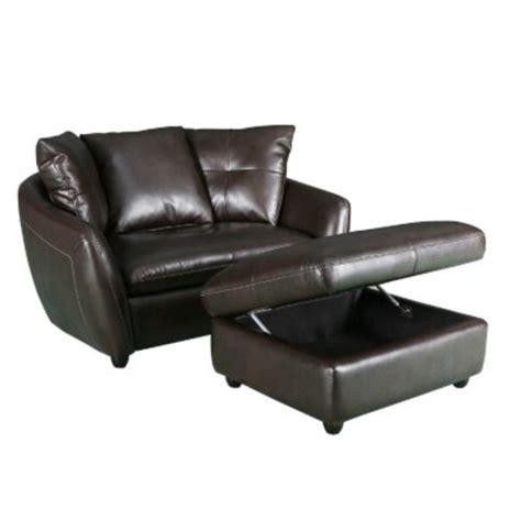 storage ottoman chair leather chair and storage ottoman 349 slickdeals net