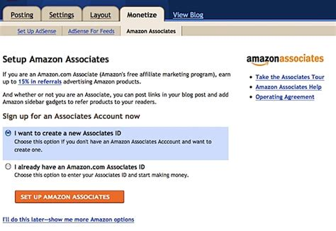 blogger new account google and amazon partner up to integrate amazon