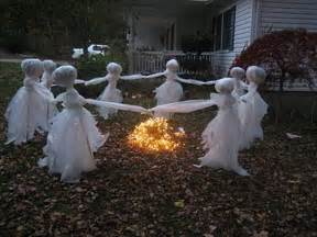 Halloween Yard Decor Ideas Outdoor Halloween Decoration Ideas 4li Co