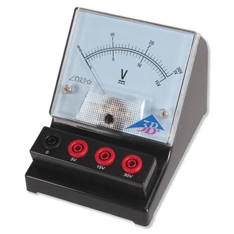 Voltmeter Analog document moved