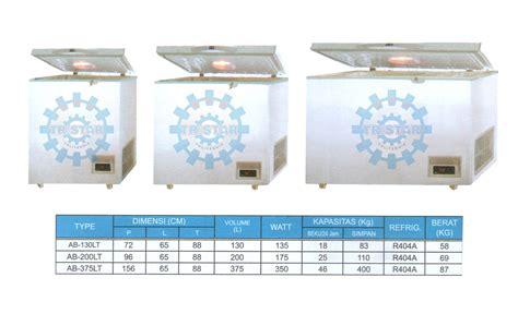 Freezer Khusus Es Batu low temp frezeer 40 176 c mesin pendingin