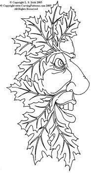 Fun Wood Spirits & Greenmen - download | Wood carving