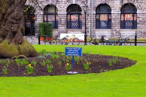courtyard   dublin prison kilmainham stock image