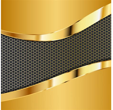 Gold Honeycomb Pattern | honeycomb pattern and gold background vector welovesolo