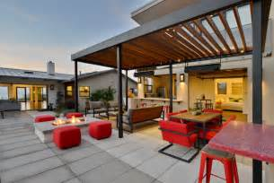 Muirlands modern contemporary patio san diego by hauck