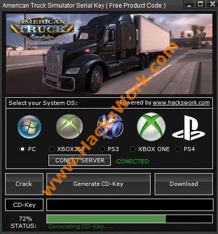 american truck simulator key generator tool | hackswork