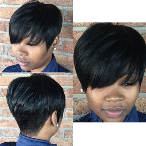 black women short layered wigs wholesale synthetic fluffy short layered cut wigs for