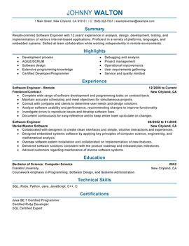 impactful professional computers technology resume
