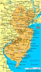united states map new jersey new jersey state map