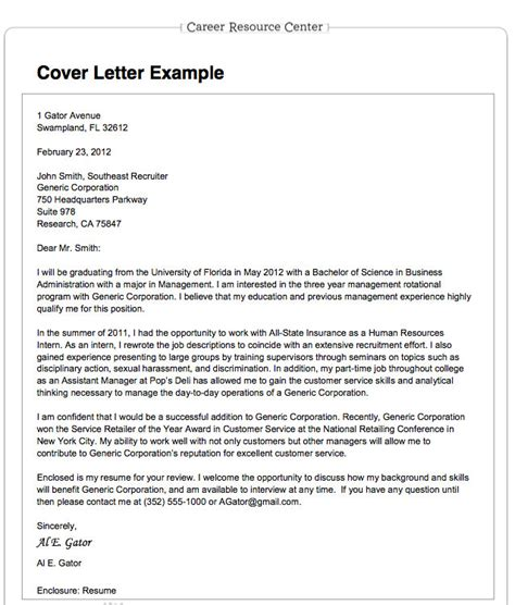 employment cover letter for resume resume cover letter format