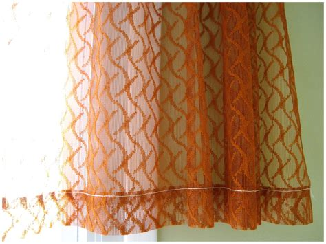 sheer curtains orange 19 top photograph of burnt orange sheer curtains 46080