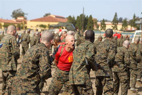 good old boat articles company b recruits learn bayonet techniques gt marine corps