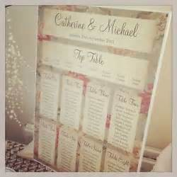 1 floral shabby chic a3 wedding table seating plan ebay