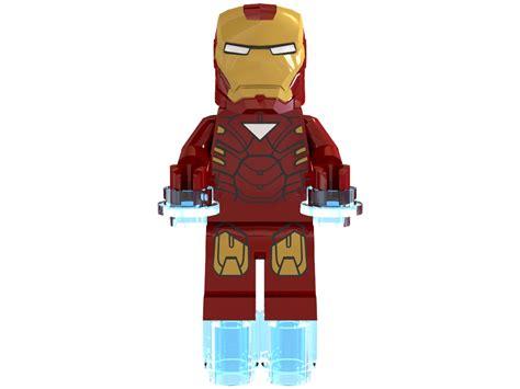3d lego models iron minifigure downloads