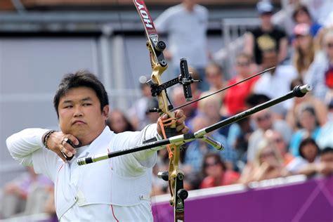 olympics 2012 archery korea s oh jin hyuk wins archery gold in outdoorhub