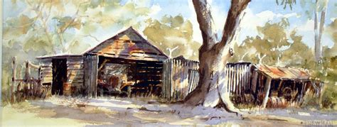 renovating old houses australia john newman australian watercolour artist and teacher