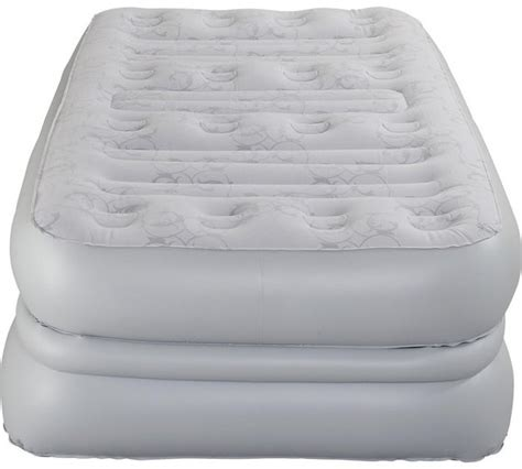 buy aerobed deluxe raised air bed single  argoscouk   shop  guest beds