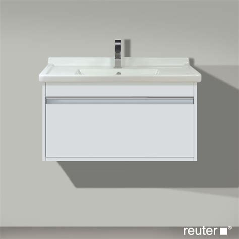 Duravit Ketho Vanity Unit duravit ketho wall mounted vanity unit with 1 pullout compartment white matt kt666401818
