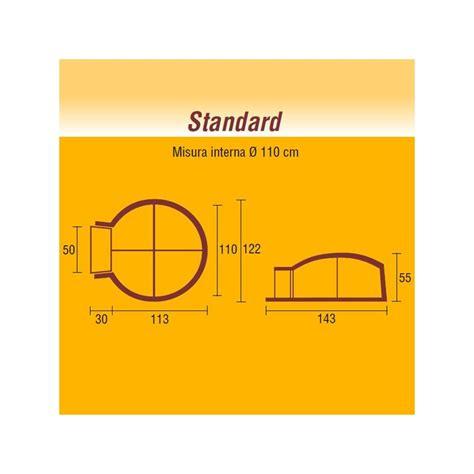 forno camino a legna forno a legna in refrattario linea casa standard 216 110 cm