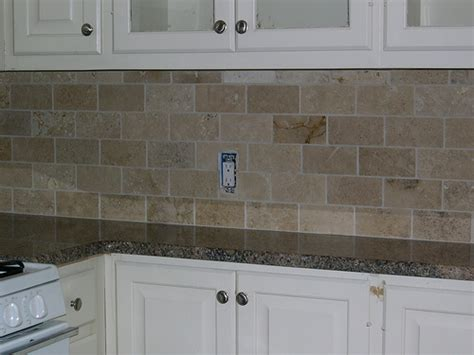 travertine backsplash 3 quot x6 quot honed durango classi