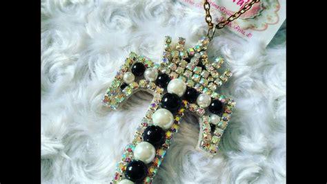 kalung chocker santa c73453 diy tutorial necklace crown unique kalung huruf my