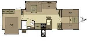 bunk travel trailer floor plans open range roamer rt296bhs travel trailer floor plan