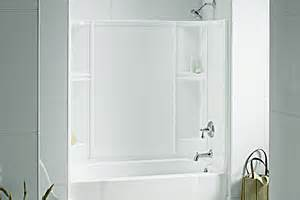 sterling bath shower sterling plumbing accord smooth 60x30 bath shower new