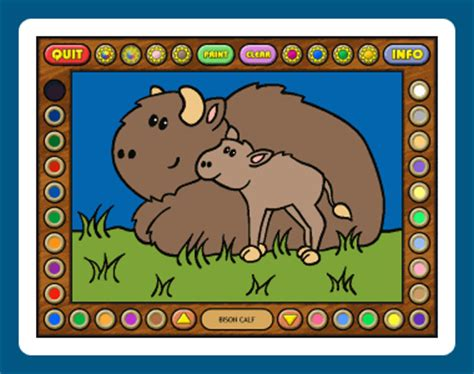 coloring book software desert animals software object jr