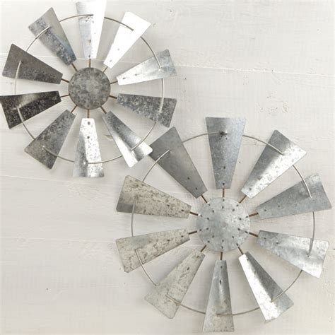 windmill wall decor galvanized windmill wall decor set wall primitive