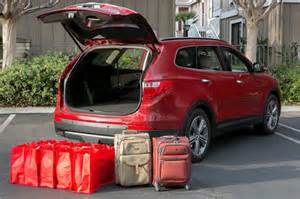 2014 hyundai santa fe real world cargo space