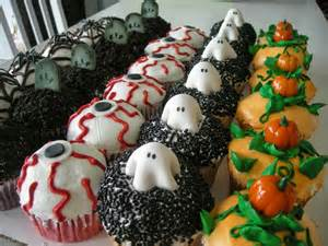 Cupcake Decorating Ideas For Halloween Halloween Cake Decorating Ideas