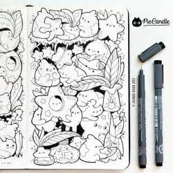 doodle piccandle 126 best images about pic candle doodles on