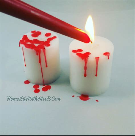 Diy Bloody Candles by Diy Bloody Candles Home With Mrs B