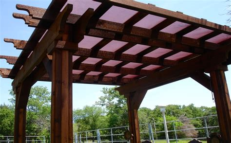 pergola with fabric carport and patio shade strokemaster windscreen supply