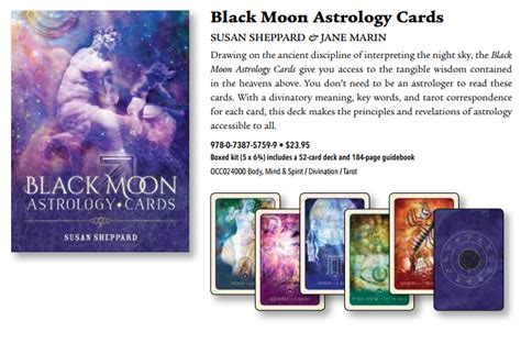 black moon astrology cards books llewellyn 2018