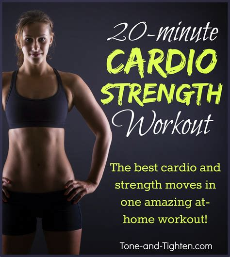 15 at home cardio workouts tone and tighten