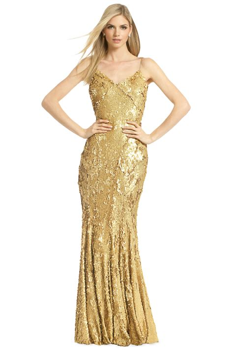 Gold Dress by As As Gold Gown By Zac Zac Posen At 350 Rent The