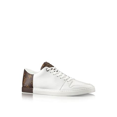mens louis vuitton sneakers louis vuitton line up sneaker in white for lyst