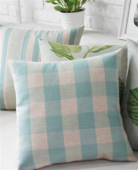 Facts About Pillows by Light Blue Pillow Covers Best Decor Things