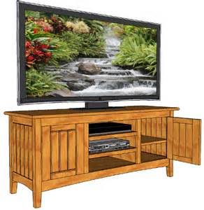 television wide screen cabinet 029 3d woodworking plans