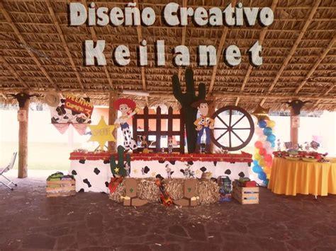 youtube comdecoracion de uas vaquero fiesta vaquera de woody y jessie de mi weenna