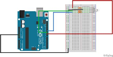 code arduino led rgb inverted rgb led