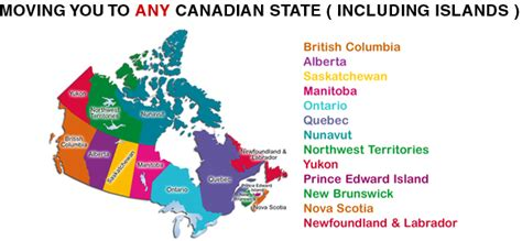 moving to canada moving to canada removals to canada shipping to canada