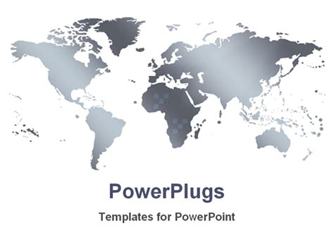 powerpoint map templates best powerpoint template world map in a white background