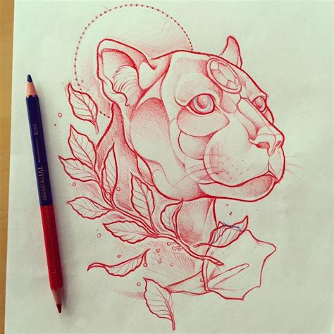 pink panther tattoo designs best 25 black panther ideas on black