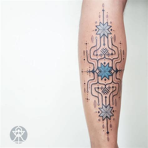 10 tattoos inspired by amazonian tribal art by brazilian